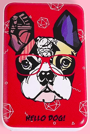 Hello Dog Digital Printed 10000mAh Dual USB Power Bank