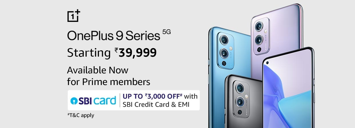 OnePlus 9 Pro 5G Series Bank Offers
